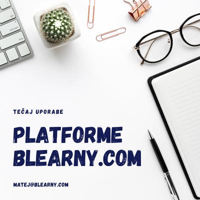 Osnove uporabe platforme Blearny.com