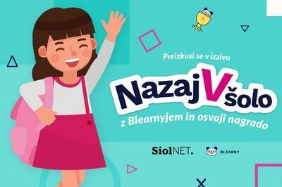 Izžrebani so nagrajenci izziva Nazaj v šolo v organizaciji siol.neta in blearnyja